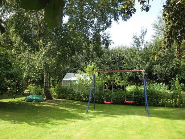 Gästegarten zum Spielen,Sonnen undGrillen