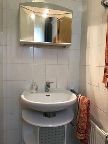 Gäse-WC im Erdgeschoss