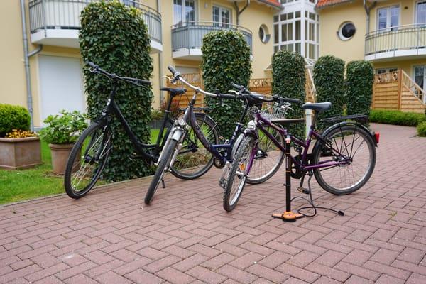 unsere Fahrräder zur kostenlosen Benutzung
