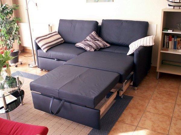 einzeln ausziehbares Sofa