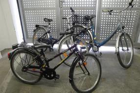 kostenlose Nutzung von 3 Fahrräder