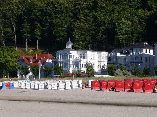 Die Strandvilla Agnes.