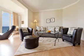 Die Couch kann für 1-2 Personen aufgebettet werden.