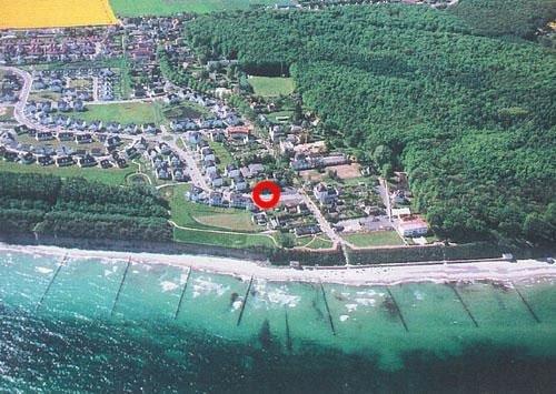 Lage der Ferienwohnung im Ostseebad Nienhagen