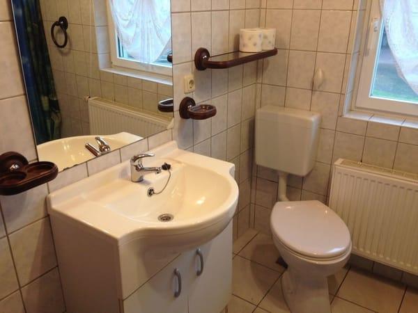 Bad - Waschbereich, WC