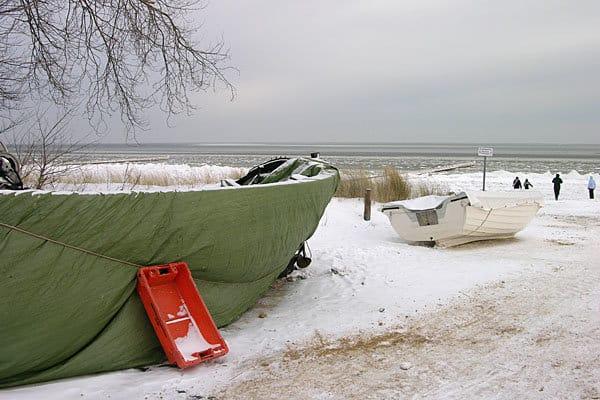 Winter in Kölpinsee