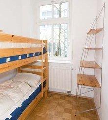 Kleines Schlafzimmer - interessant für Kinder.