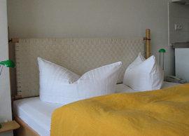 Bezogene Betten sind bei uns selbstverständlich.
