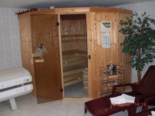 Sauna im Haus 2 Std. frei bei 5 Übernachtungen