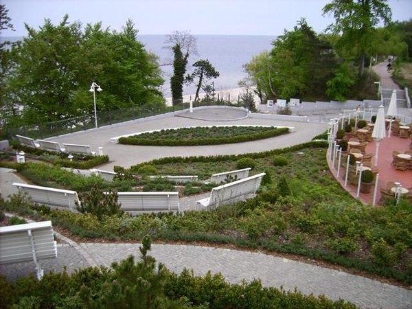 Ostsee-Terrassen im Anschluss an unseren Garten