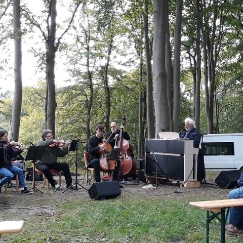 Konzert auf dem Friedensberg, Kurpark von Sellin
