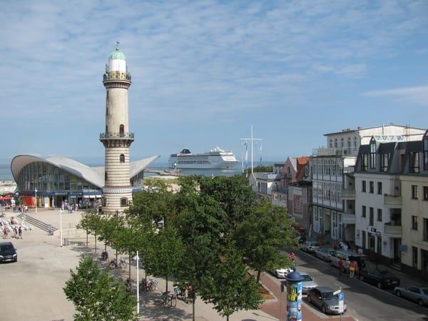 Ausblick zum Leuchtturm