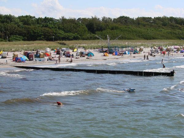 Strand für groß und klein