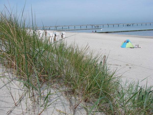 Einige Strandbereiche sind besondersl  leer