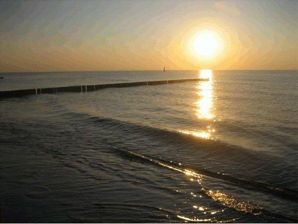 Von diesem Sonnenuntergang kann man nur träumen