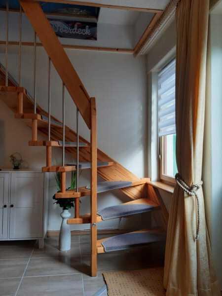 Treppe unten