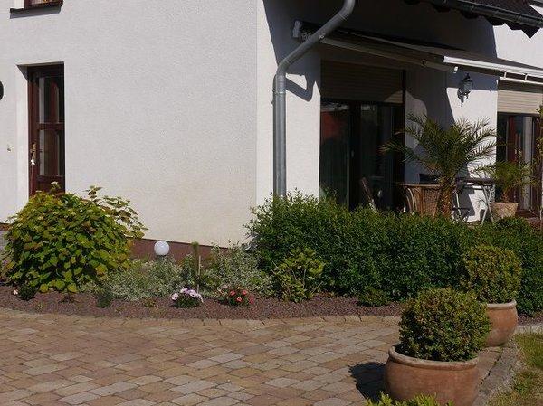 Außenbereich mit Terasse