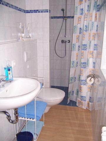 Badzimmer mit Dusche