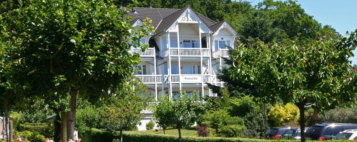 Haus 1 der Parkresidenz Concordia im Ostseebad Sellin