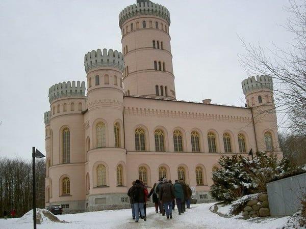 Schloß Granitz ist auch im Winter schön