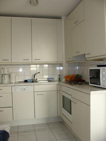 Küche, komfortabel ausgestattet