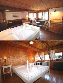 2 der insgesamt 5 Schlafzimmer