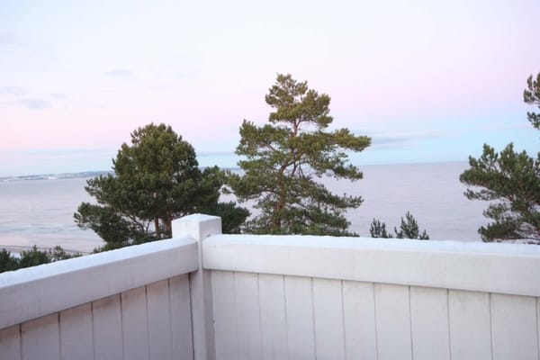 Balkon mit wunderschönem Meerblick bis zu den Kreidefelsen über die gesamte Ostsee