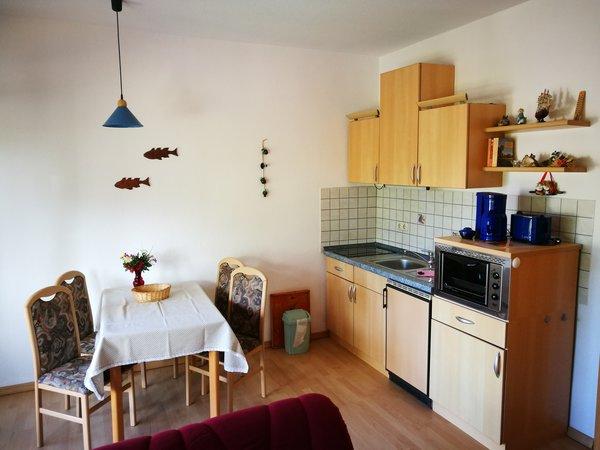 Essbereich mit Küchenzeile