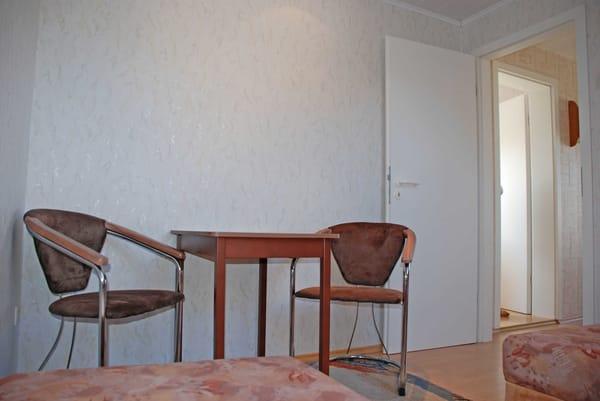 Sitzgelegenheit im 1. Schlafzimmer