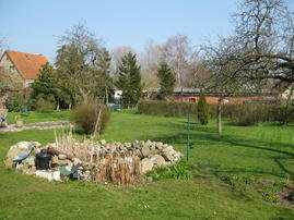 Riesen großer Garten zum Grillen,Federball spielen und andere Aktivitäten