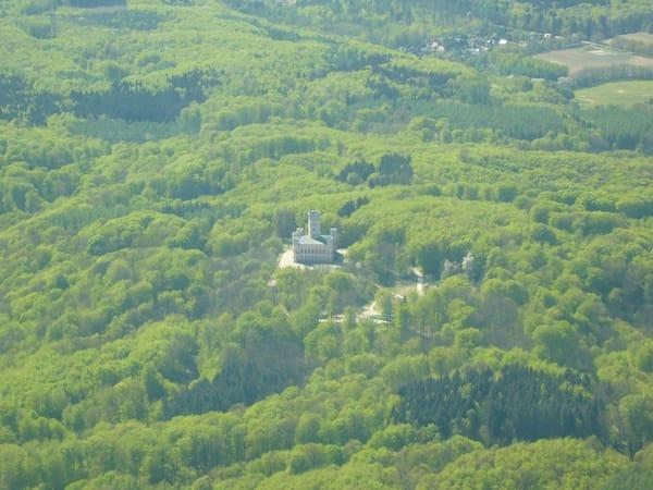 """Ein Fahrradtour von unserer Unterkunft zum Schloss Granitz - durch das Naturschutzgebiet """"Grinste Wald"""""""