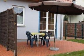 Terrasse und Grillmöglichkeit 401 & 402