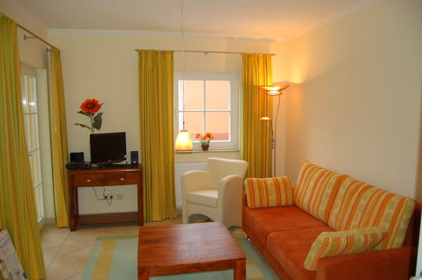 Wohnzimmer der Villa Felice