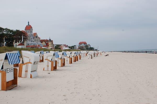 Strand in der Nähe der Villa Felice 2008