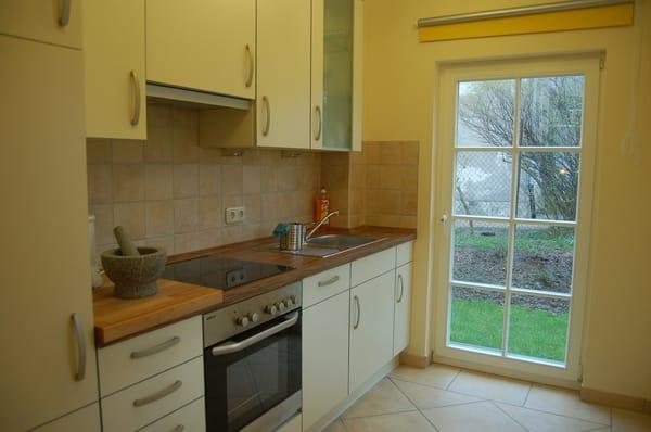 Blick in die Küche der Villa Felice (links)