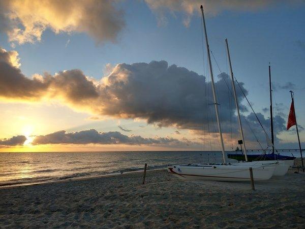Sonnenaufgang am Strand von Zinnowitz