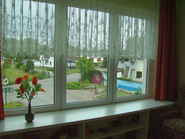 Blick aus der Veranda