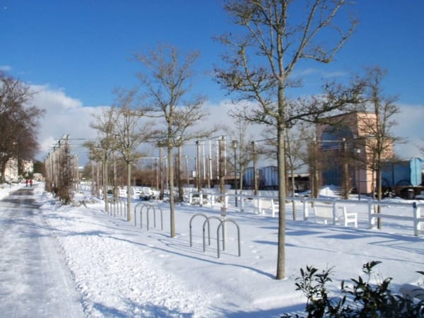 Promenade im Winter