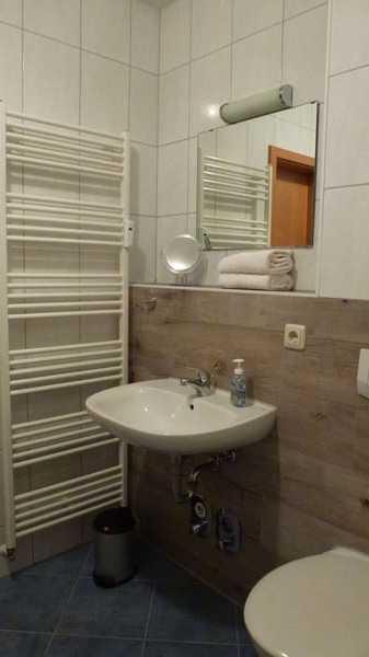 Bad mit Handtuchtrockner