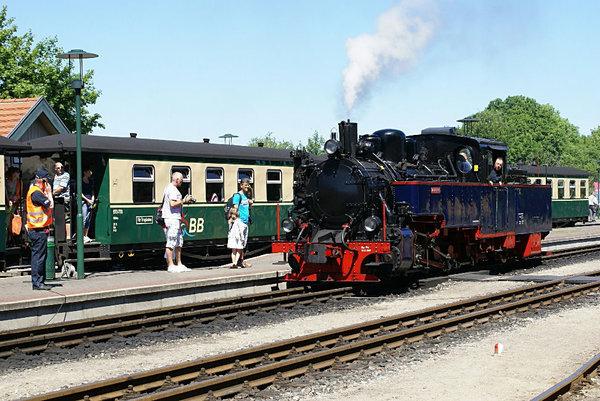 Putbus Bahnhof - Rasender Roland