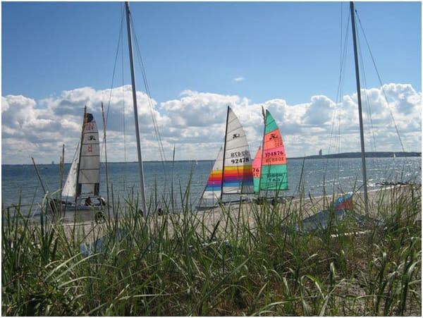 segeln oder surfen