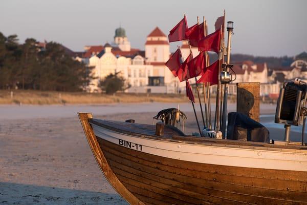 Der Strand von Binz.