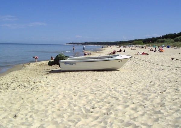 Strand von Zinnowitz  auf der Insel Usedom