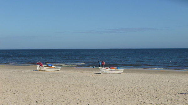 Ein breiter, feinsandiger Sandstrand zum entspannen