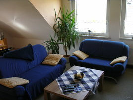 Teilansicht Wohnzimmer für gemütliche Familienabende
