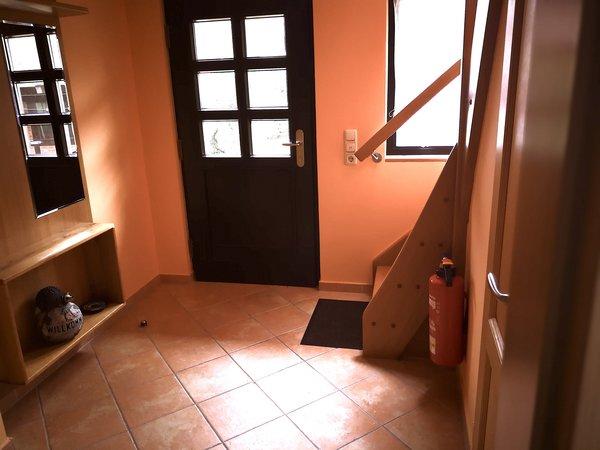 Eingangsbereich auch mit Fußbodenheizung