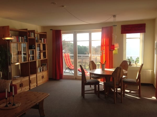 Essecke, zwei Balkons