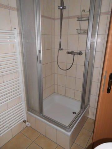 WC Ansicht Dusche