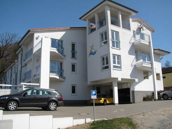 Ansicht des Hauses von der Zinglingstraße aus