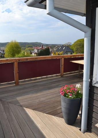 Viel Platz auf der Terrasse